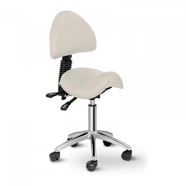 Saddle Chair with Back Support PHYSA BERLIN BEIGE