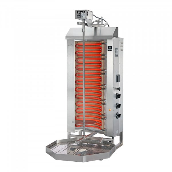 Kebab Grill - 9000 W - up to 50 kg of meat