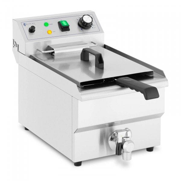Electric Deep Fat Fryer - 9 L - 3,000 W - drain tap - cold zone