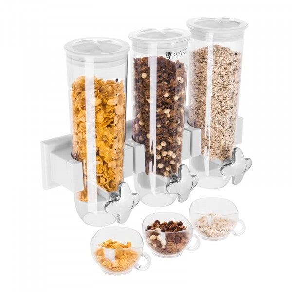 Factory seconds Cereal Dispenser - Triple - 4.5 Litres