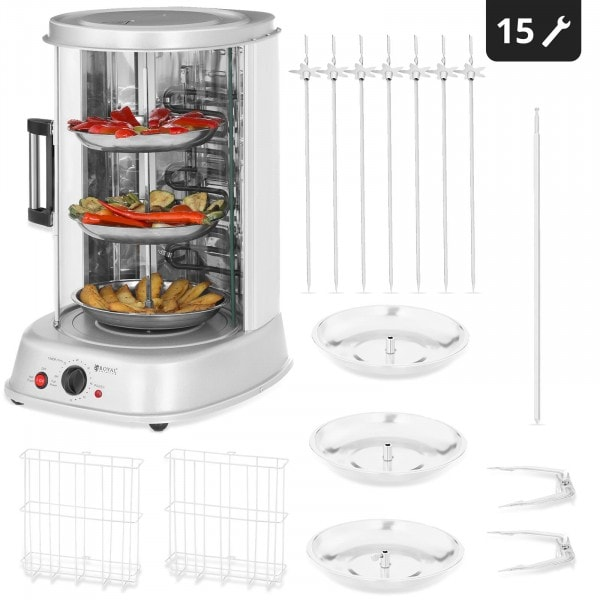 Factory seconds Tower Rotisserie - 4-in-1 - 1,800 W - 31 L