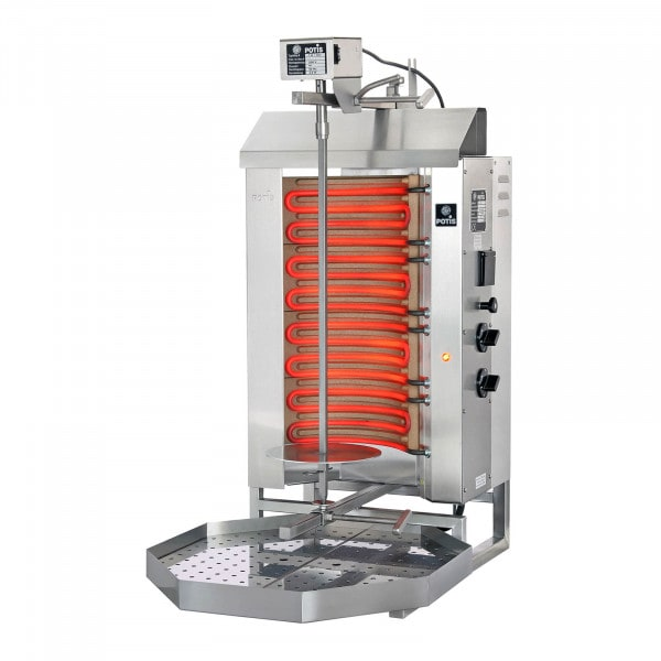 Kebab Grill - 6000 W - up to 30 kg of meat
