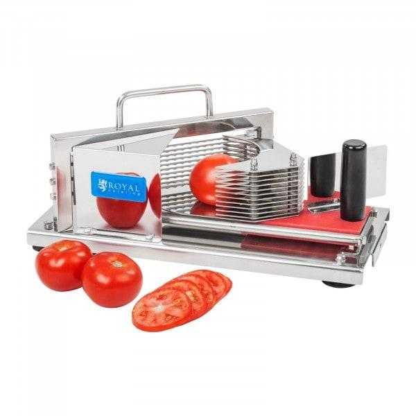 im Einsatz von Tomatenschneider - 5,5 mm Scheiben