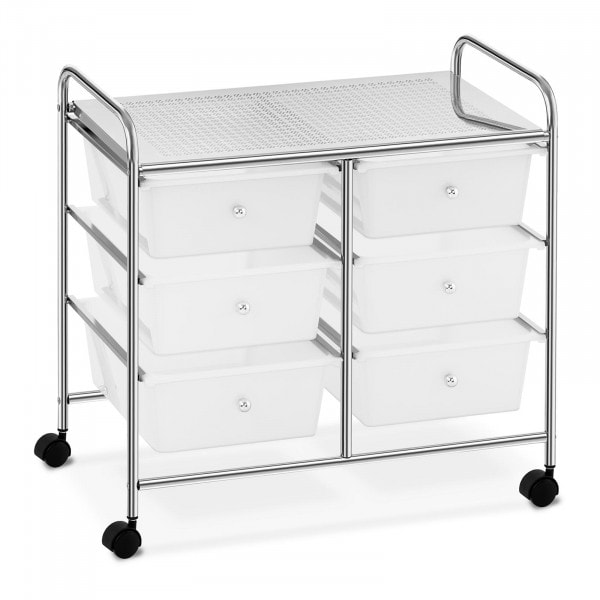 Factory second Salon Trolley - 6 drawers