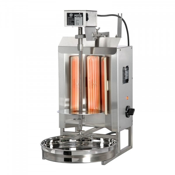 Kebab Grill - 3000 W - up to 7 kg of meat