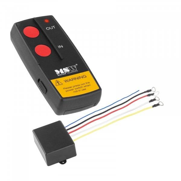 Winch Remote Control MSW-WR2 - 12 V - 30 m - Scope