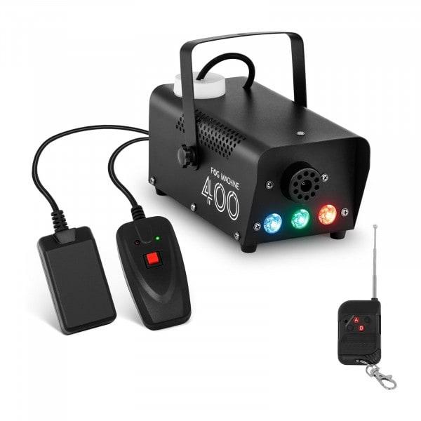 Haze Machine - LED 3 x 3 W - 400 W - 28 m³/min - remote control