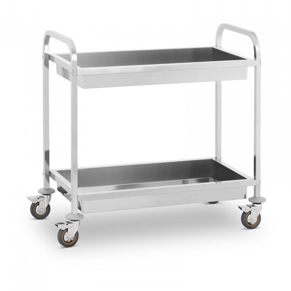 B-WARE Serving Trolley - 2 Container Trays - up to 320 kg