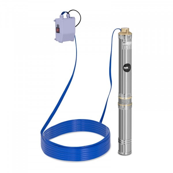 B-WARE Well Pump - 6.000 L/h - 750 W - Stainless Steel