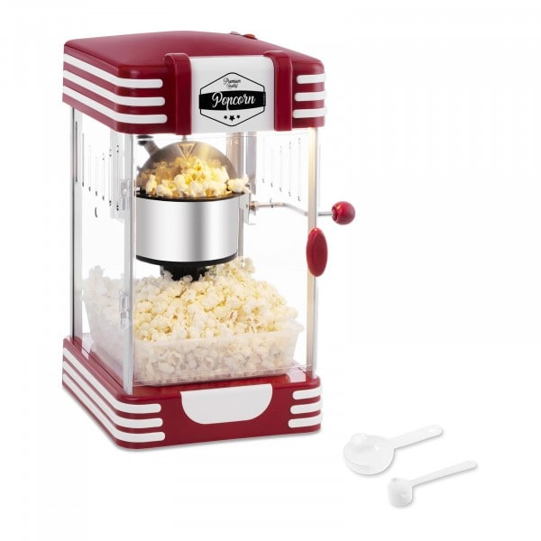 Factory seconds Popcorn Maker - 50's Retro Design - Red