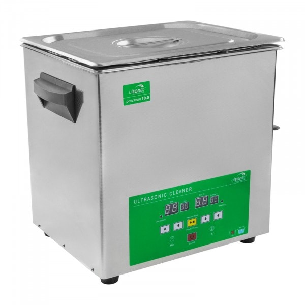 B-WARE Ultrasonic cleaner - 10 litres - Memory Quick