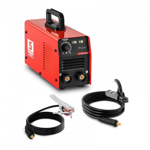 MMA Welding Machine - 160 A - LED - Hot Start - Arc Force - handle