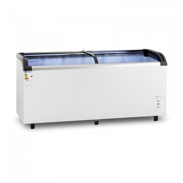 Chest Freezer - 545 L - Royal Catering - glass doors