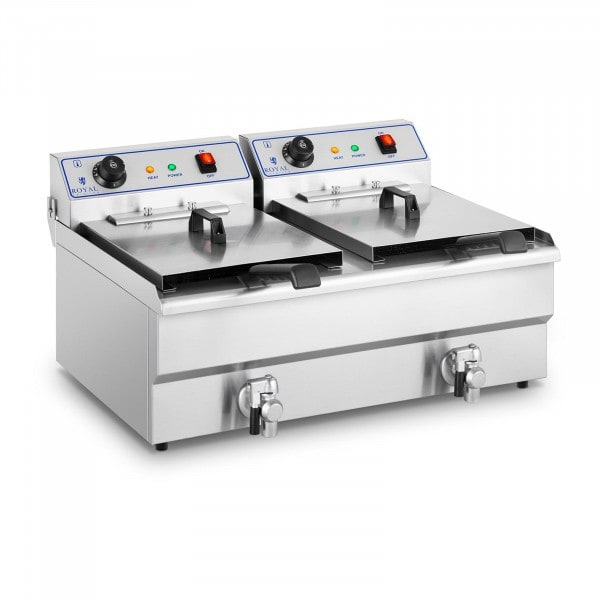 Factory second Electrical fryer - 2 x 16 L - 400 V