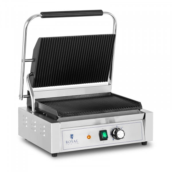 Contact Grill - 2,200 W - ribbed