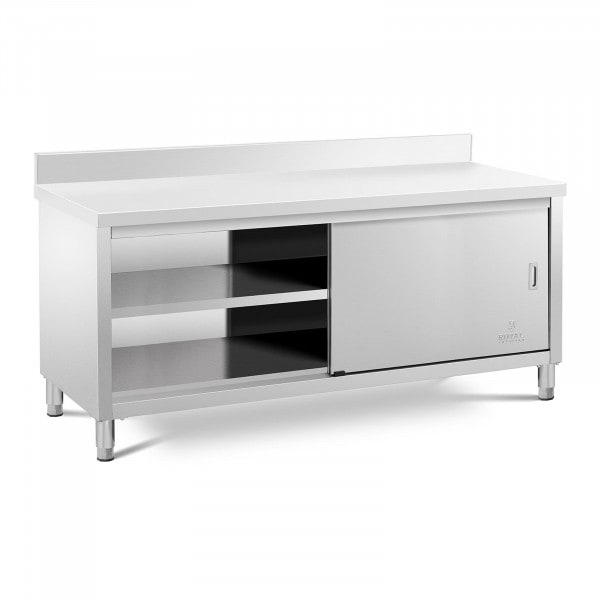 Work Cabinet - upstand - 200 x 60 cm - 600 kg load capacity