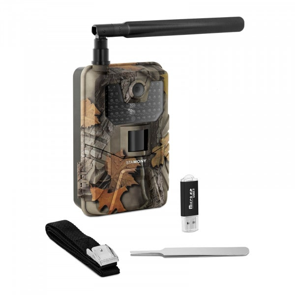 Factory second Game Camera - 8 MP - Full HD - 44 IR LEDs - 20 m - 0.3 s - LTE with GSM booster